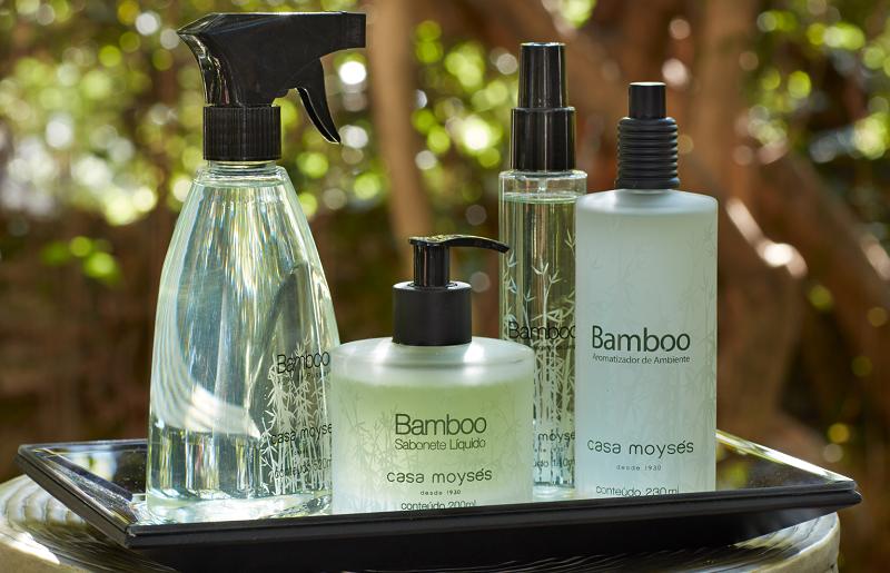 Aromaterapia para casa - Linha Bamboo