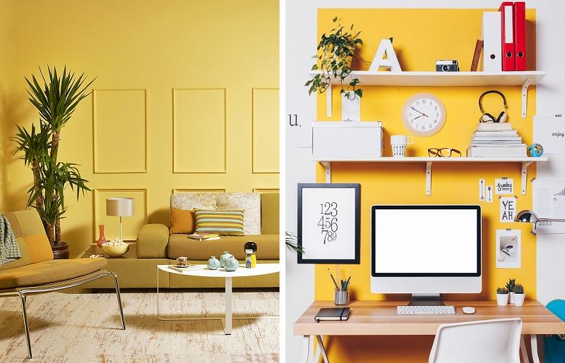 Cores para casa - amarelo