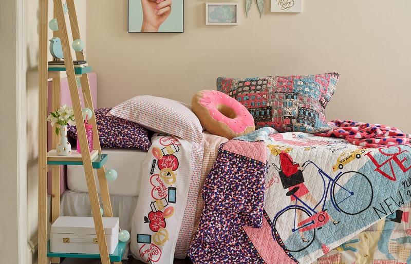 Cores para quarto de menina