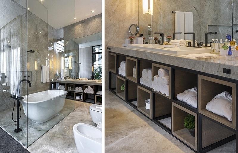 Decoração de banheiro clássico