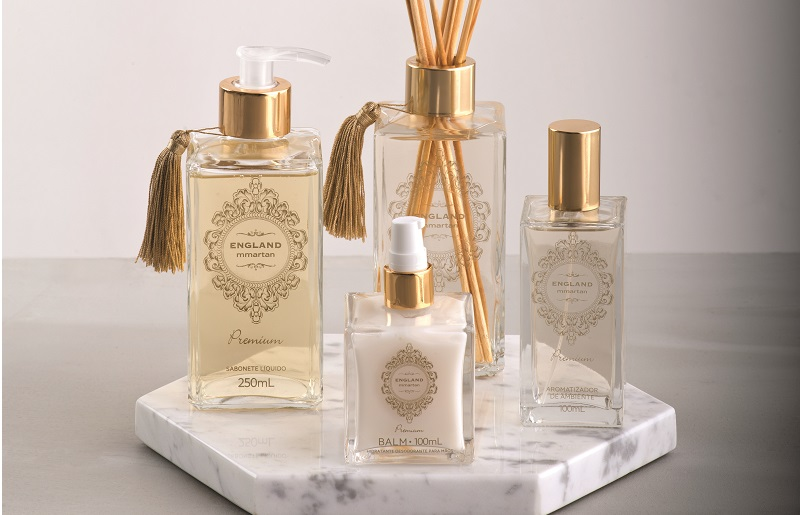 Produtos aromáticos para complementaer a atmosfera da sua casa