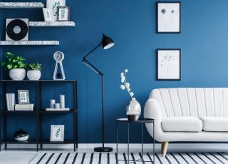 Decoração com azul para se inspirar