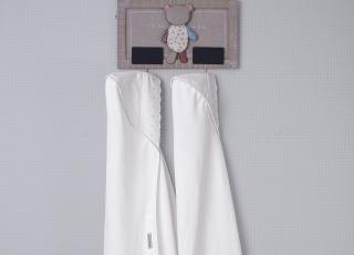Aprenda a escolher a toalha de banho para bebê