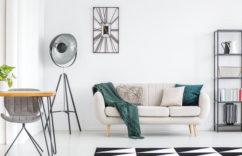 Comece escolhendo o sofá ideal