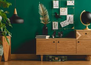 Decoração verde motivos para usar a cor na sua casa