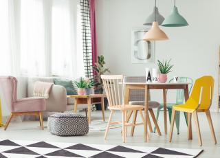 Como acertar com a decoração colorida em casa