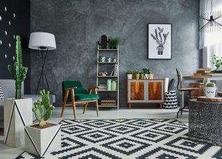 Sala de estar moderna em 6 passos