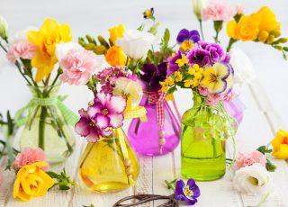4 ideias para tornar a decoração com flores charmosa