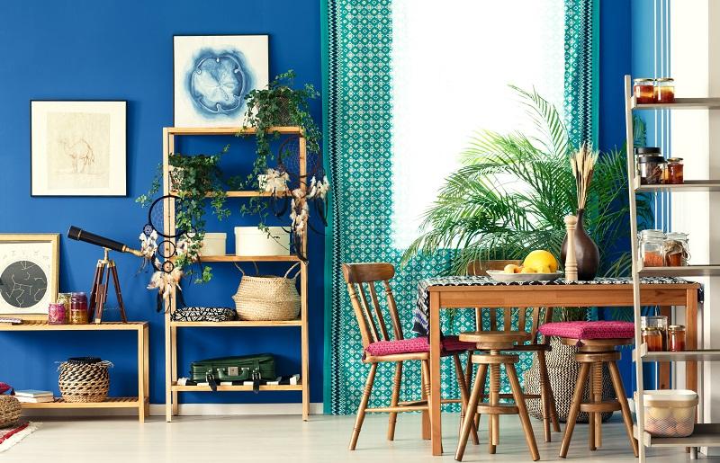 Plantas no estilo tropical