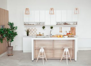 Acerte na decoração da cozinha americana