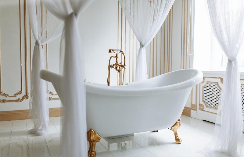 A banheira queridinha do banheiro de luxo