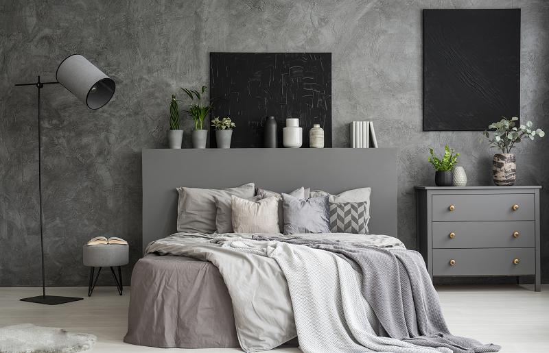 Como decorar quarto cinza