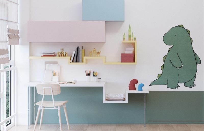 Como organizar quarto infantil - cores