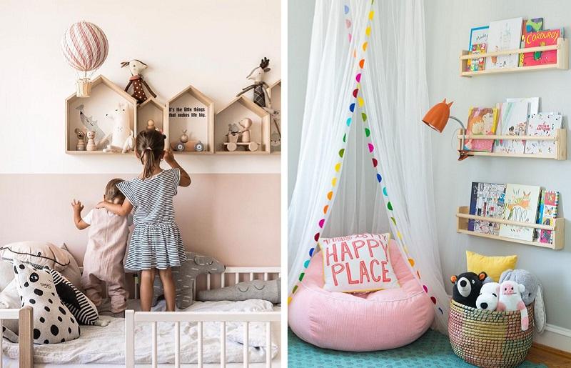 Como organizar quarto infantil - prateleiras