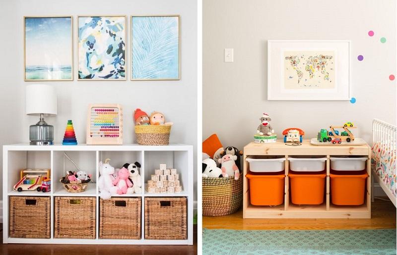 Como organizar quarto infantil - brinquedos