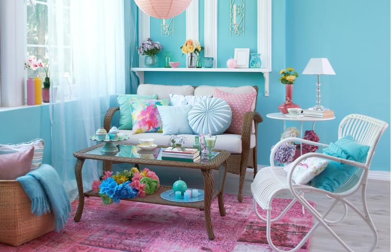Dicas de decoração para sala sobre cores