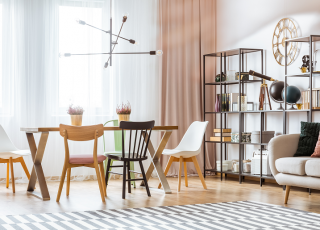 Como decorar sala de jantar e estar integrando os ambientes
