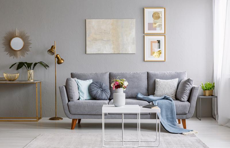 Como criar uma decoraç u00e3o de sala grande mm home&decor -> Decoração De Interiores Salas Grandes