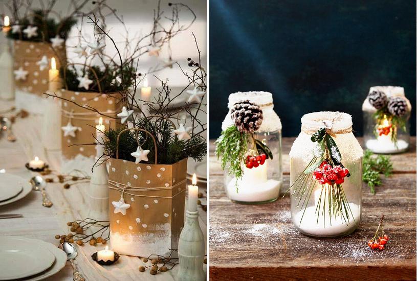 Enfeites de natal - Velas são enfeites de Natal que trazem sofisticação