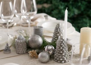 Como decorar mesa de natal com estilo