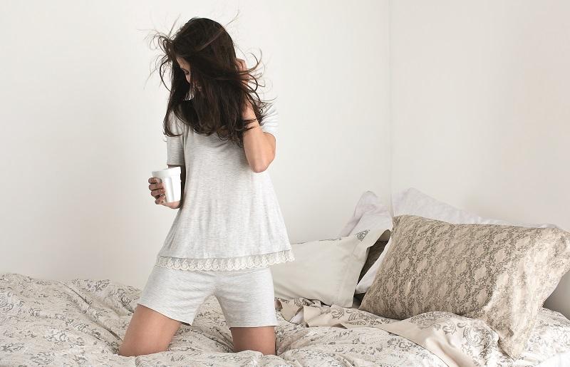 Como dormir no calor - pijama
