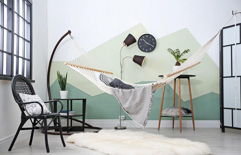 Como dormir no calor - rede