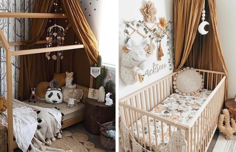 Temas para quarto de bebê - deserto