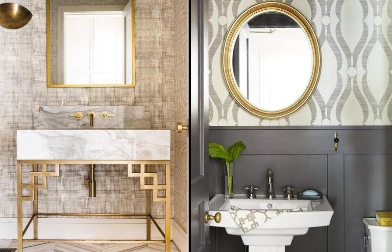 tecidos-materiais-papel-de-parede-decoração-banheiro-lavado-tendência.