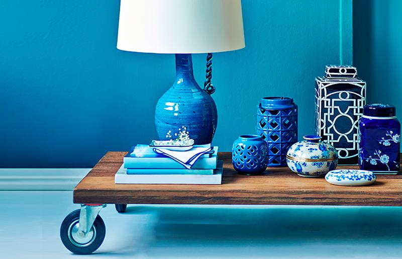 Azul turquesa detalhes